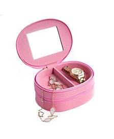 Lizard 2 Level Jewelry Case with Mirror