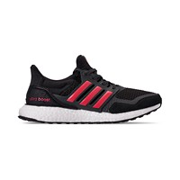 Adidas Women's Ultraboost S&L Running Shoes (Black/Pink)