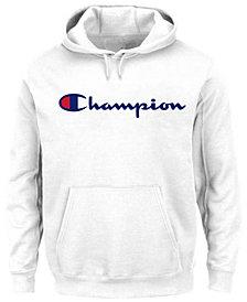 Champion Men's Big & Tall Logo Powerblend Fleece Hoodie