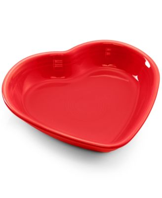 Scarlet Medium Heart Bowl