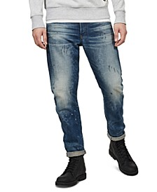 Men's 3D Straight Tapered Jeans, Created For Macy's