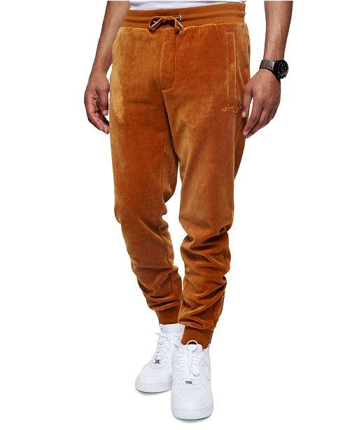 Sean John Men's Velour Track Pants