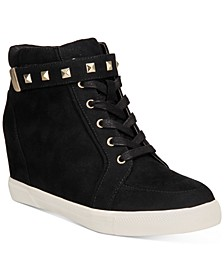 Dilan Wedge Sneakers, Created for Macy's
