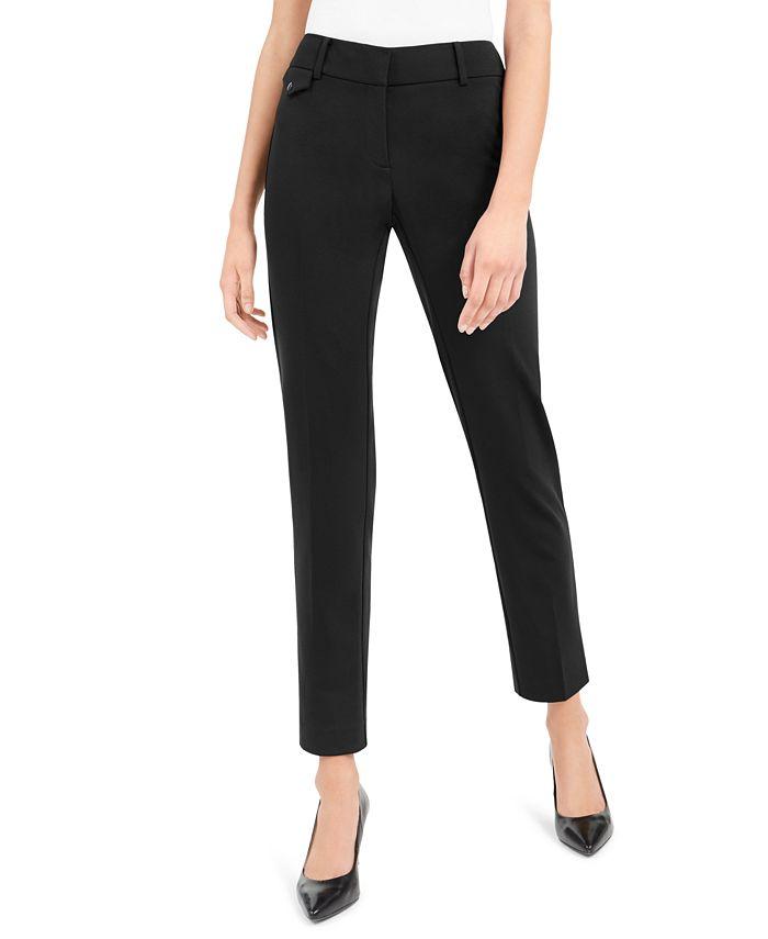 Alfani - Petite Slim Fit Pants, Created For Macy's