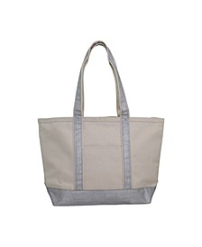 Medium Boat Tote Metallic