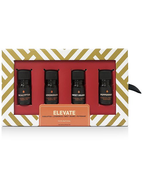 Way Of Will 4-Pc. Elevate Essential Oil Gift Set