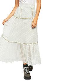 Free People Ella Tiered Midi Skirt