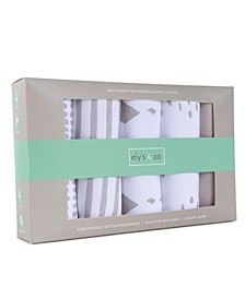 Middle Layer Reversible Burp Cloth Fleece