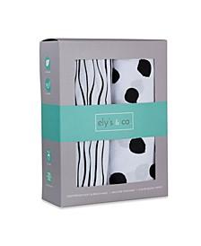 Jersey Cotton Crib Sheet Set 2 Pack