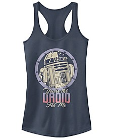 Star Wars R2-D2 Droid For Me Valentine's Ideal Racer Back Tank