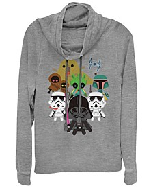 Star Wars Kawaii Villains Cowl Neck Sweater