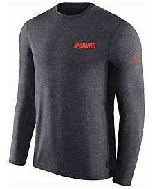 Men's Cleveland Browns Coaches Long Sleeve Top