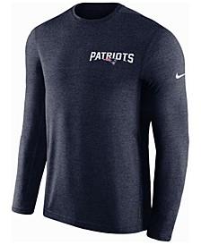 Men's New England Patriots Coaches Long Sleeve Top