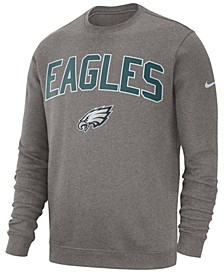 Men's Philadelphia Eagles Fleece Club Crew Sweatshirt