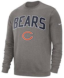 Men's Chicago Bears Fleece Club Crew Sweatshirt