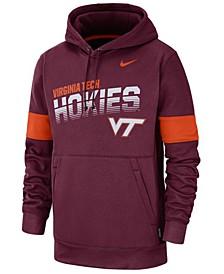 Men's Virginia Tech Hokies Therma Sideline Hooded Sweatshirt