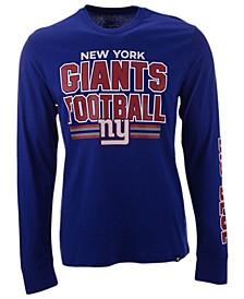 Men's New York Giants Dub Stack Super Rival Long Sleeve T-Shirt