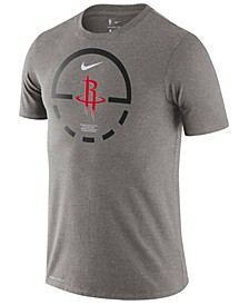 Men's Houston Rockets Courtlines Dri-FIT T-Shirt