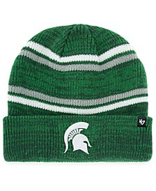 Michigan State Spartans Marled Stripe Cuff Knit Hat