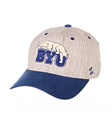 Brigham Young Cougars Oxford Flex Stretch Fitted Cap