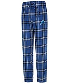 Men's Detroit Lions Hillstone Flannel Pants