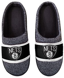 Brooklyn Nets Poly Knit Slippers