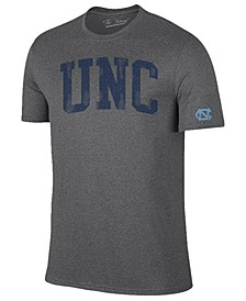 Men's North Carolina Tar Heels Oversized Arch Dual Blend T-Shirt