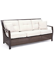 North Shore Outdoor Sofa with Sunbrella® Cushions, Created for Macy's