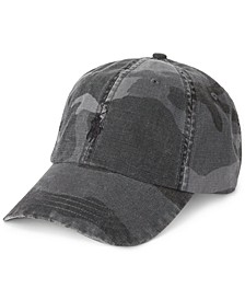 Men's Camo Canvas Baseball Cap
