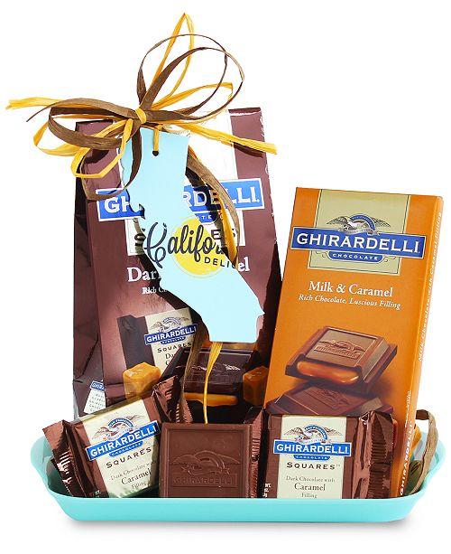 California Delicious Ghirardelli Chocolate Tray