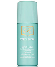 Estée Lauder Youth-Dew Roll-On Anti-Perspirant Deodorant, 2.5 oz