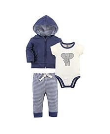 Baby Boy and Girl Organic Hoodie
