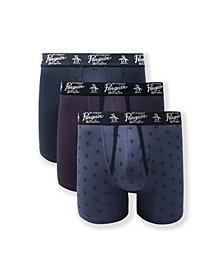 Original Penguin Men's 3-Pack Signature Pete Boxer Briefs