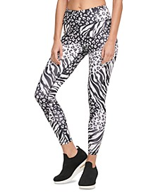 Sport Animal-Print High-Waist Leggings
