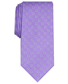 Men's Classic Floral Neat Tie, Created For Macy's