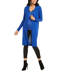 Open Duster Cardigan, Created for Macy's