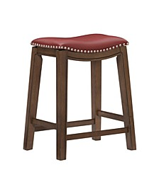 "Gilman 24"" Height Saddle Stool"