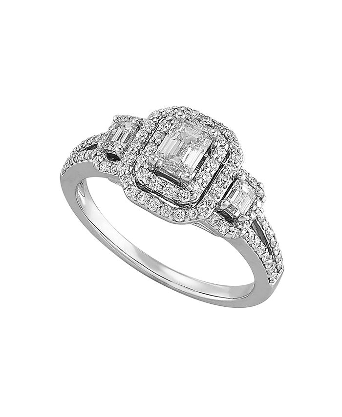 Macy's - Diamond (1 ct. t.w.) Engagment Ring in 14K White Gold