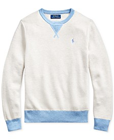 Big Boys Textured Cotton Sweater