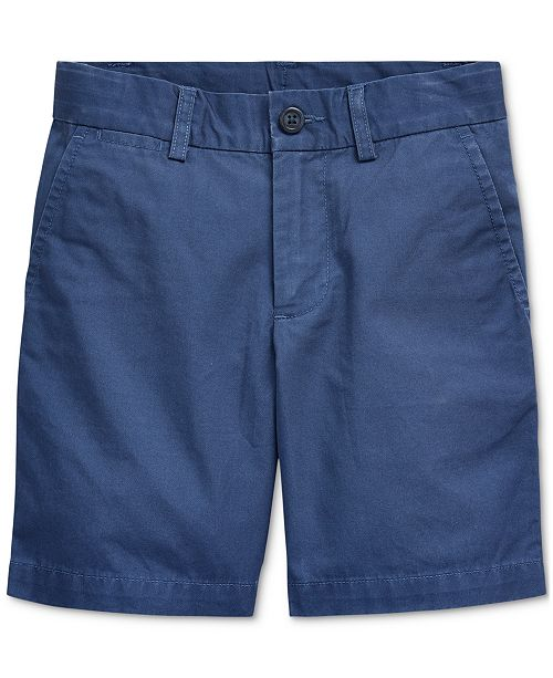 Polo Ralph Lauren Big Boys Cotton Chino Shorts, Created For Macy's