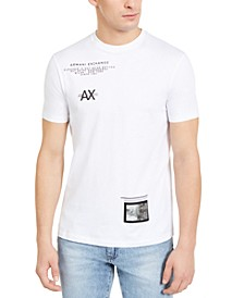 Men's Small Print T-Shirt