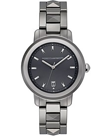 Women's BFFL Silver-Tone Ceramic Bracelet Watch 36mm