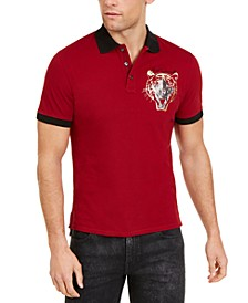 Men's Animal Graphic Polo Shirt
