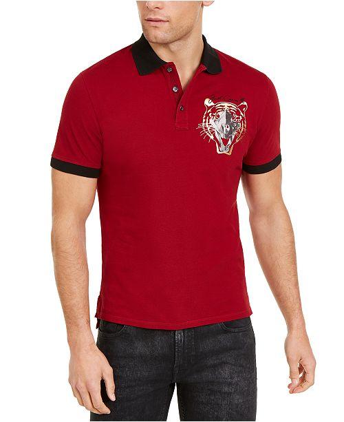 Just Cavalli Men's Animal Graphic Polo Shirt