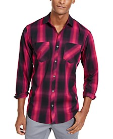 INC Men's Leo Plaid Shirt, Created for Macy's