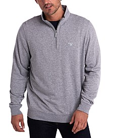 Men's Batten Slim-Fit 1/2-Zip Sweater