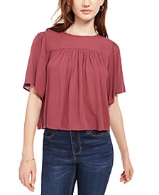 Juniors' Baby Doll Top