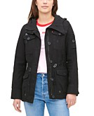 Levis Womens Hooded Military Jacket