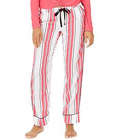 Jenni Printed Drawstring Pajama Pants, Created For Macy's