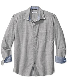 Men's Classic-Fit Oxford Isles Classic-Fit Stretch Shirt